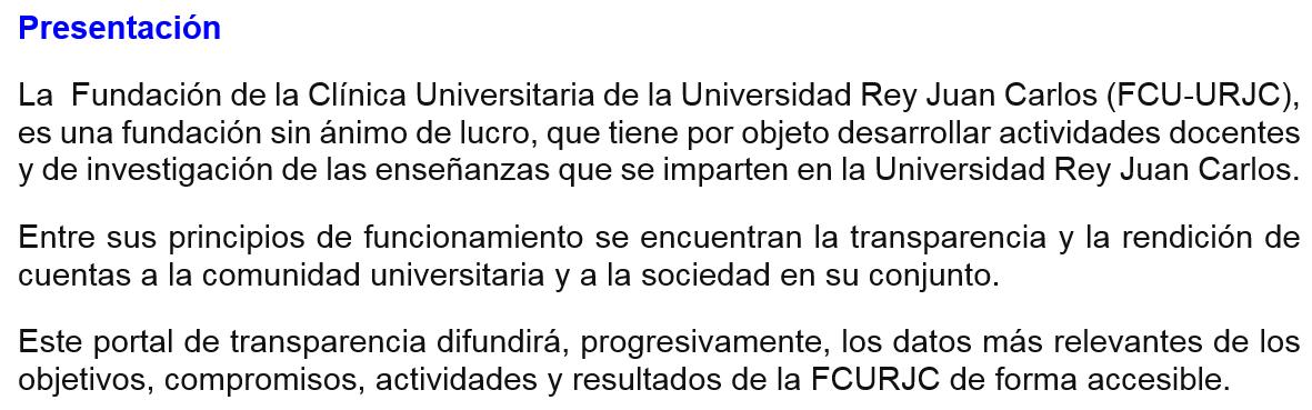 Clínica  Universitaria  de  la  Universidad  Rey  Juan  Carlos